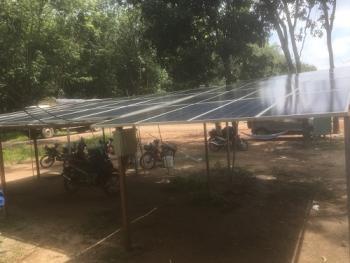 Công trình Điện Năng Lượng Mặt Trời Độc Lập 4.5KWp cho nông trường cao su - PHÚ GIÁO - BÌNH DƯƠNG