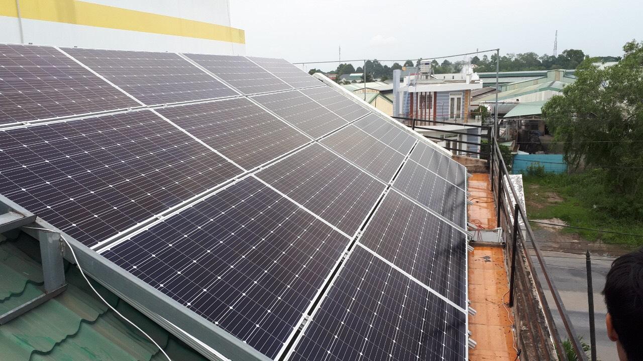 Điện Mặt Trời  GPT Solar lắp đặt Tại quận 2