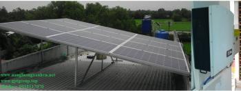 Giá điện mặt trời được EVN mua lại cho các đơn vị đầu tư là 9,35 cent/kWh